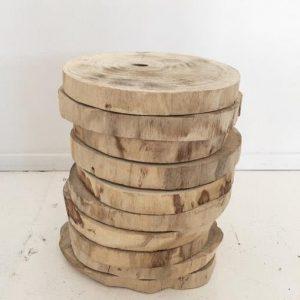 Natural Timber Round