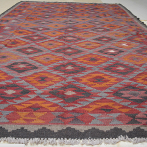 Turkish Kilim Rug – Diamond