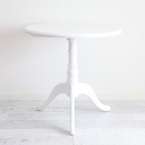 White Registry/Side Table