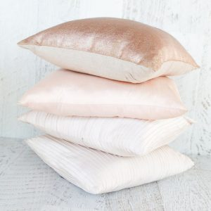 Blush Cushion Set