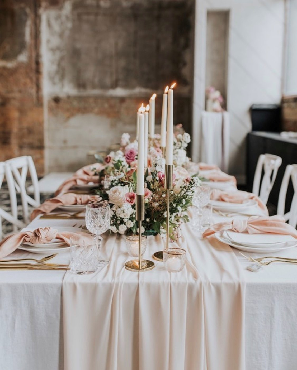 Nude Table Runners