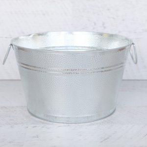 Silver Ice Tub