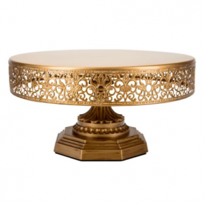Gold Iron Cake Stand