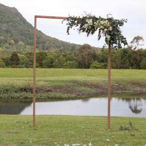 Timber Slimline 2 Post Arbor