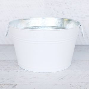 White Ice Tub -Round