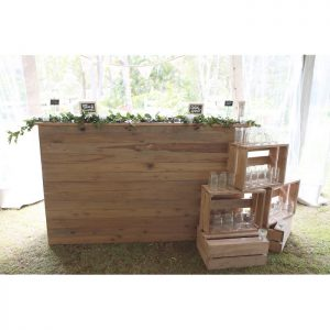 Oak Bar Setting Package