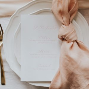 Blush Linen Napkins