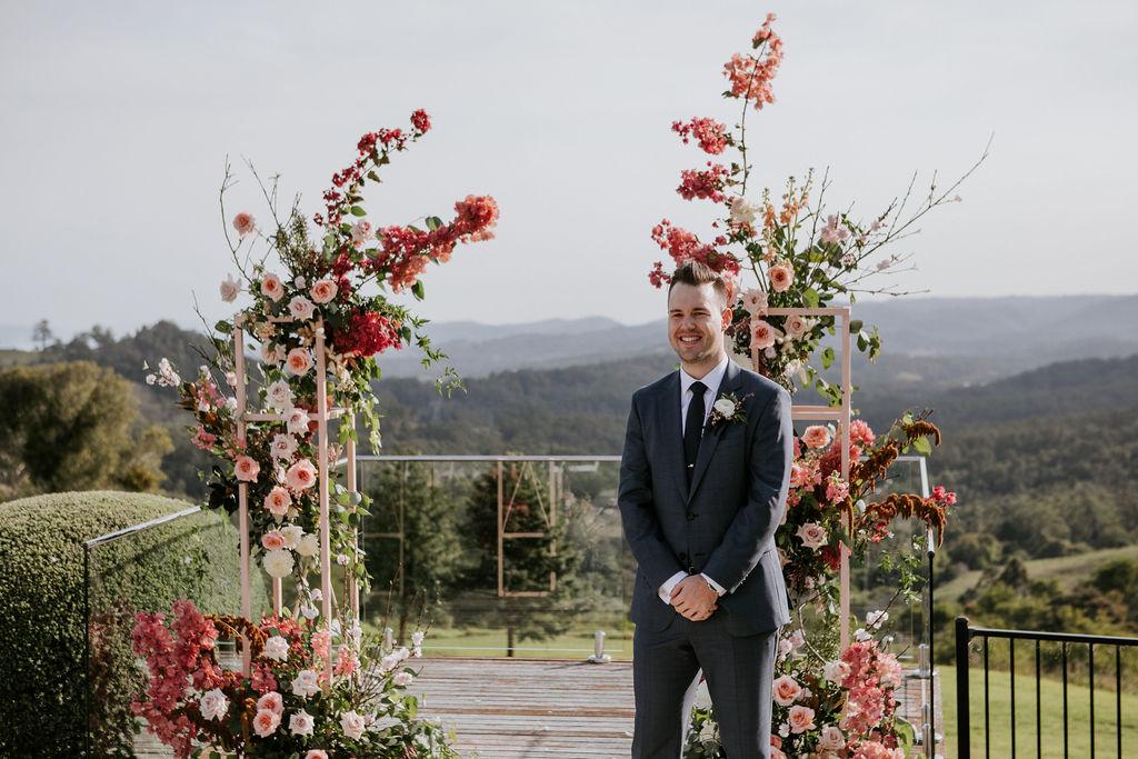 The Old Dairy Maleny wedding _ luxury farm stay wedding _ Maleny wedding stylist